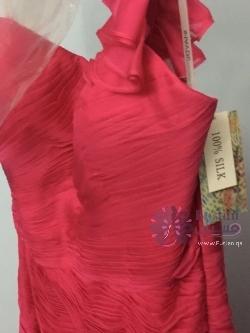 فستان فرح او سهرة جديد حرير