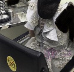 فستان خطوبة ميديوم لارج للاجار