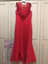 فستان سهرة احمر