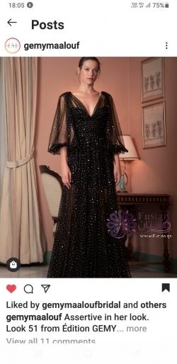 فستان ماركة المصمم جيمي معلوفجديد غير ملبوس