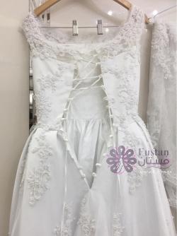( فستان: زفاف تفصيل)
