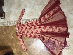 فستان محجبات مع شيله