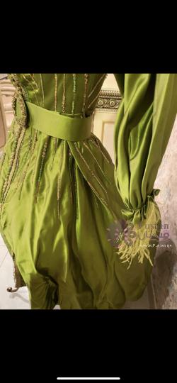 فستان حناء راقي