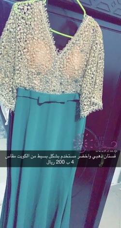 فستان  مستخدم خفيف سهرة روووعة