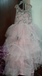 فستان حفلة طويل للاطفال