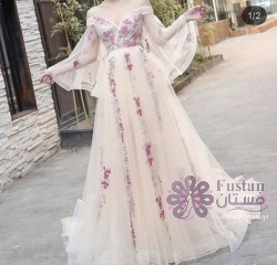 فستان شيفون مقاس سمول
