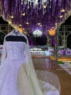 بيع فستان زفاف سعر البيع