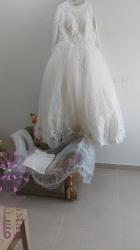 للبيع والايجار فستان زفاف و طرحة