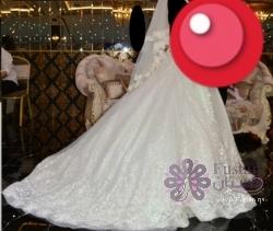 فستان عروس تركي فاخر