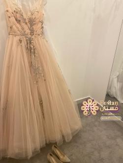 فستان من تصميم سعيد ملص